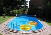 Ovalus karkasinis baseinas
