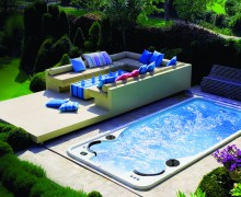 Aquasport 17 swimspa baseinas salia terasos ileistas