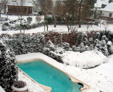 Aquatrainer 17 baseinas lauke ziema