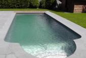 stiklo pluosto baseinas garda 950 su zaliuzem