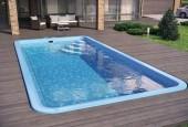 stiklo pluosto baseinas Lugano