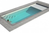 stiklo pluosto baseinas wanaka 750 su zaliuzem