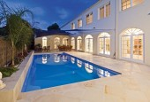 XL-Trainer-Blue-Saphire-pool-Compass-classical-house