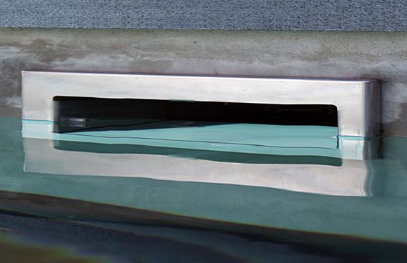 Hydropool Lt Surface Skimmer Type B 500 Slim Light